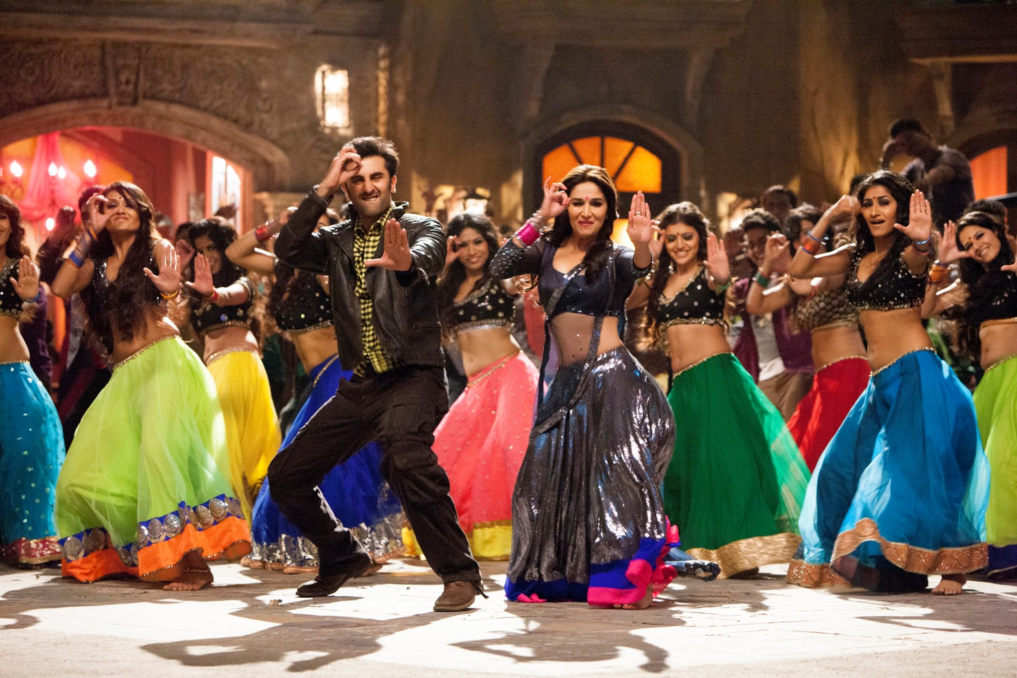 Madhuri & Ranbir Kapoor in the much-awaited 'Ghagra' Song