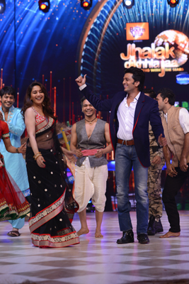 Riteish Deshmukh visits the set's of jhalak