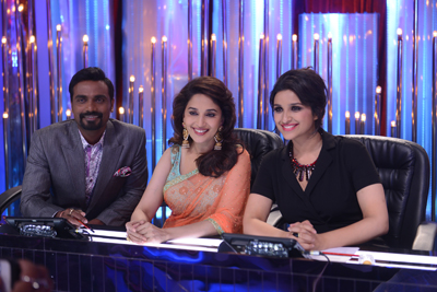 Parineeti Chopra visits the sets of jhalak